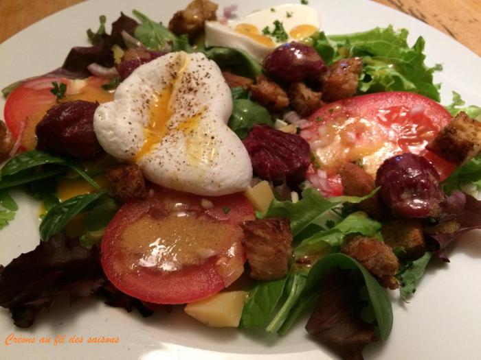 Salade tomte 1